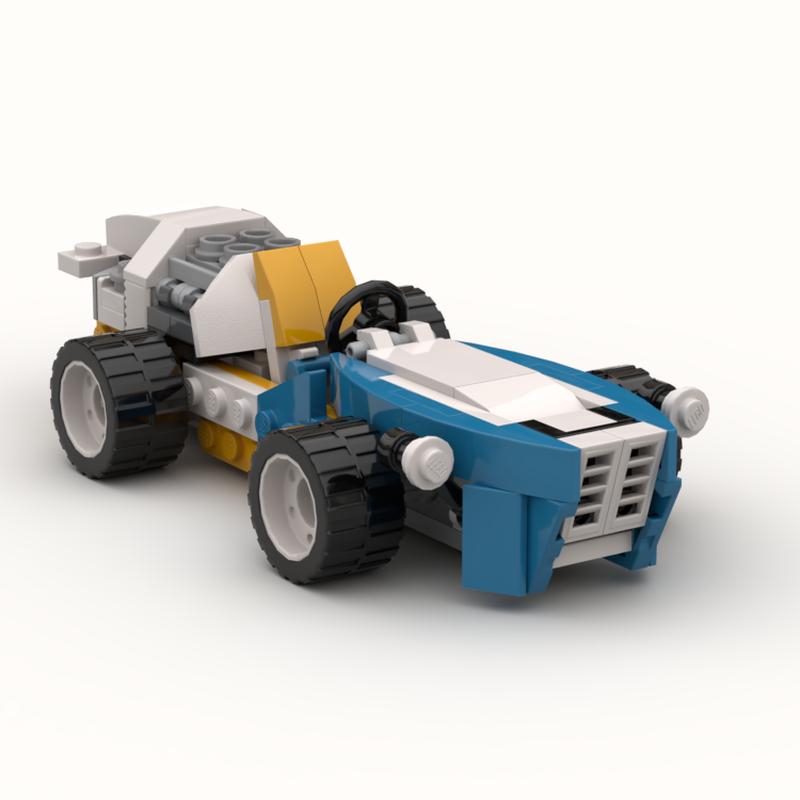 LEGO MOC-20291 Classic Formula Race Car (Creator 2018