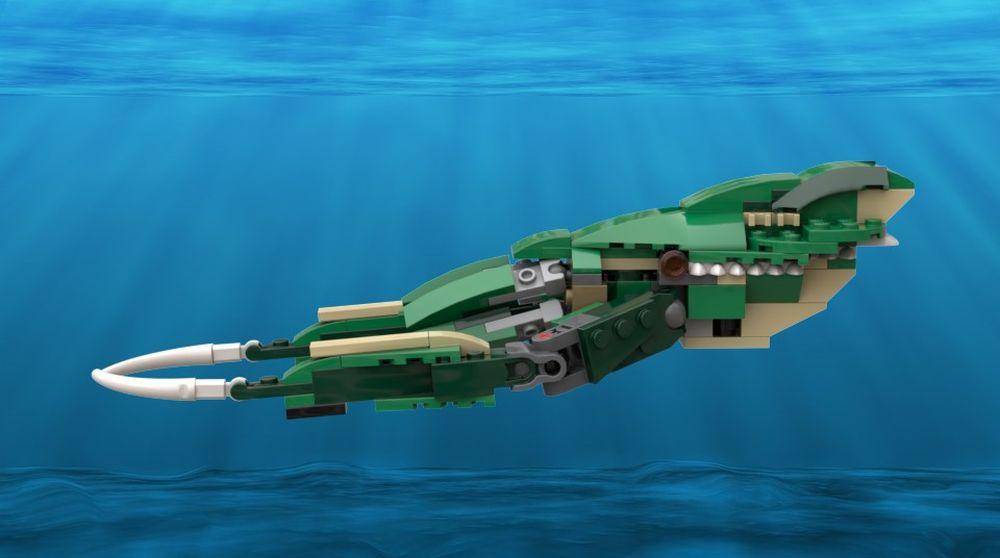LEGO MOC-20361 31058 - Cuttlefish (Creator > Model ...