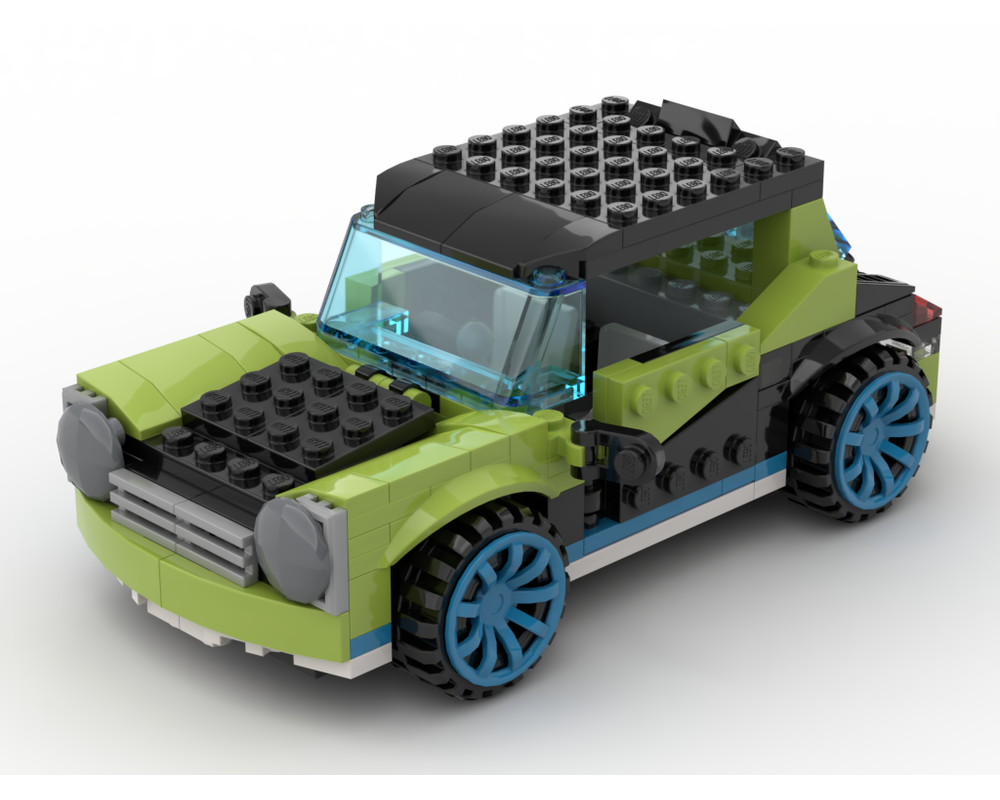 LEGO MOC-20421 31074 Mini Cooper (Creator > Model 2018 ...