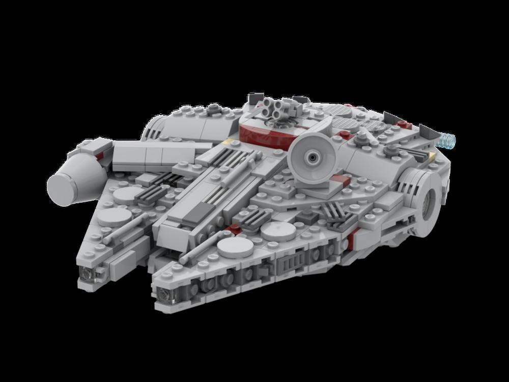 LEGO MOC-20497 Midi-scale Millennium Falcon (Star Wars > Mini > Star