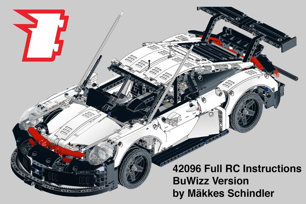 LEGO MOC-20691 Custom 42096 Full RC with LED lights - BuWizz Version