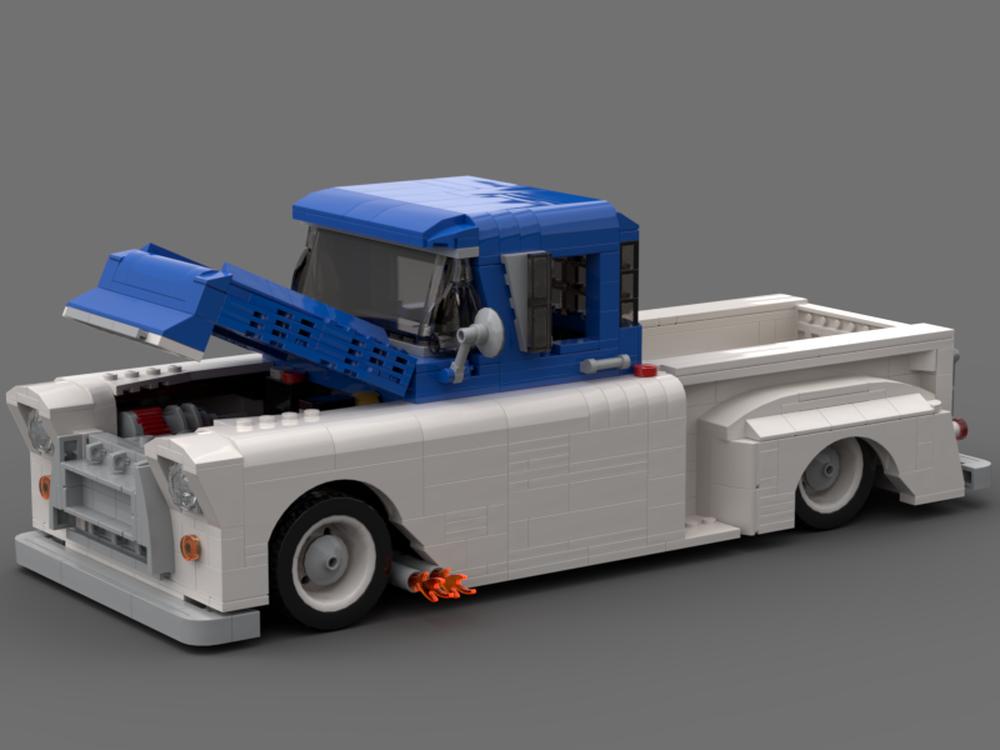 LEGO MOC-20707 1957 Apache in Blue/White (Creator > Creator