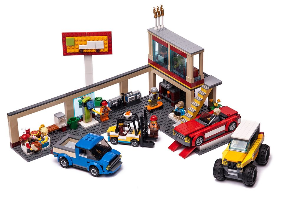 LEGO MOC-20818 60200 Service Garage (Town > City 2019
