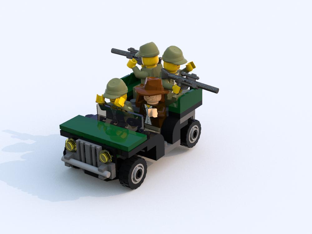 LEGO MOC-21425 20004 alt- 4-seater jeep (Town > City ...
