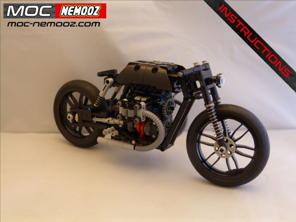 Lego Moc 21468 Bmw Bobber Technic 2019 Rebrickable Build With Lego