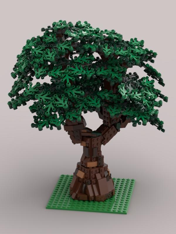 Lego Moc 21493 Big Tree Town Gt City Gt Jungle 2019