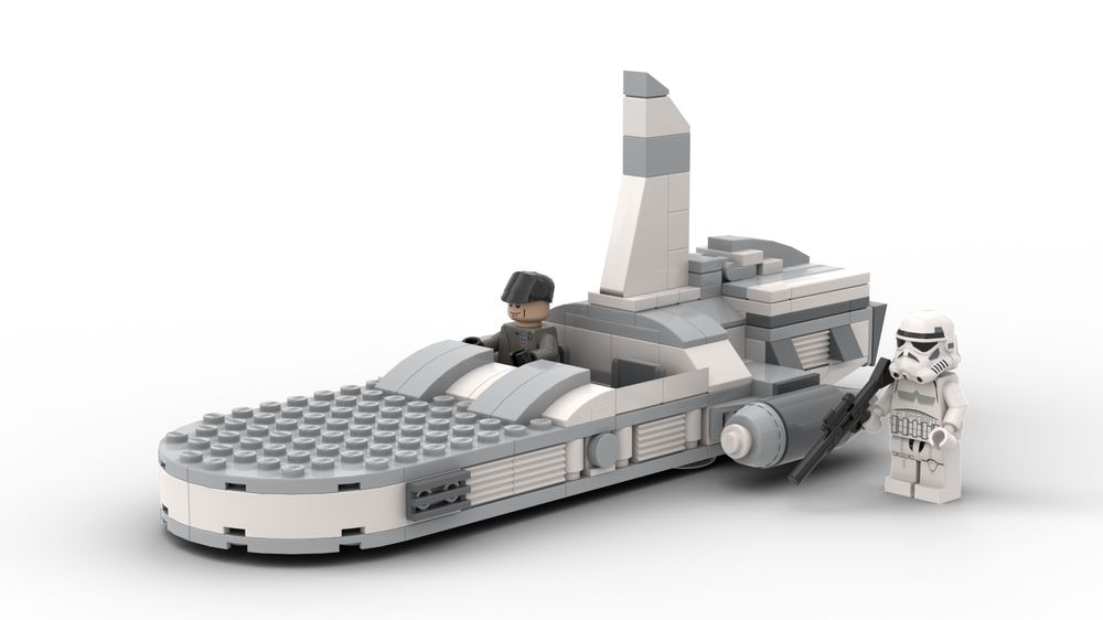 LEGO MOC-21532 Imperial Speeder (Star Wars 2019) | Rebrickable