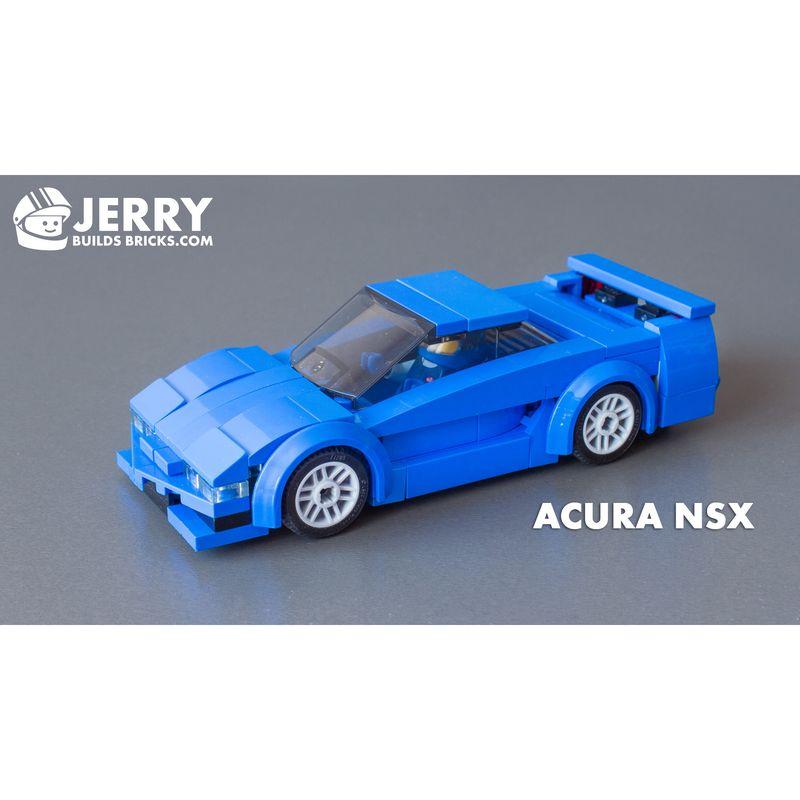 LEGO MOC-21559 Acura NSX (Speed Champions 2019