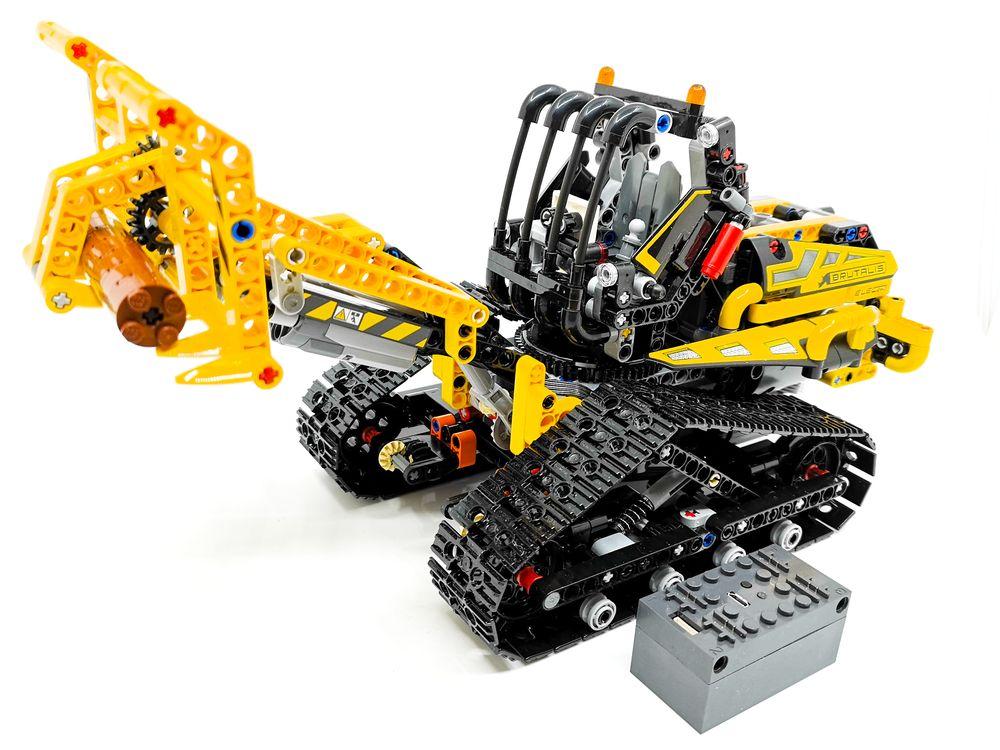 LEGO MOC-21707 42094 Tracked Loader BuWizz MOD (Technic