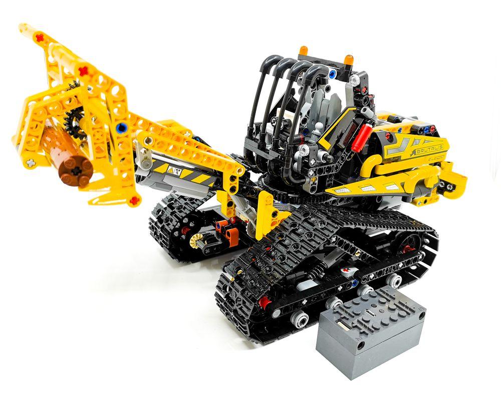 LEGO MOC-21707 42094 Tracked Loader BuWizz MOD (Technic > Model > Construction 2019 ...