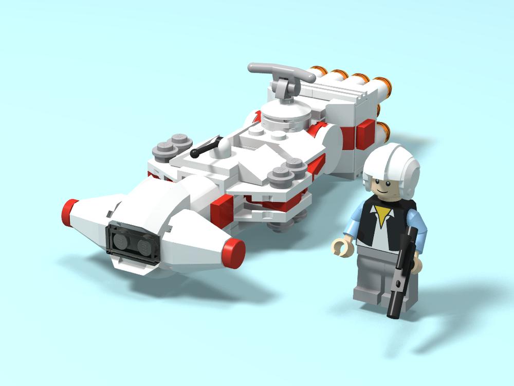 LEGO MOC-21925 Microfighter - Tantive IV (Star Wars > Mini