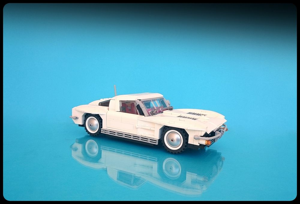 LEGO MOC-22102 1963 Chevrolet Corvette Stingray Split Widow