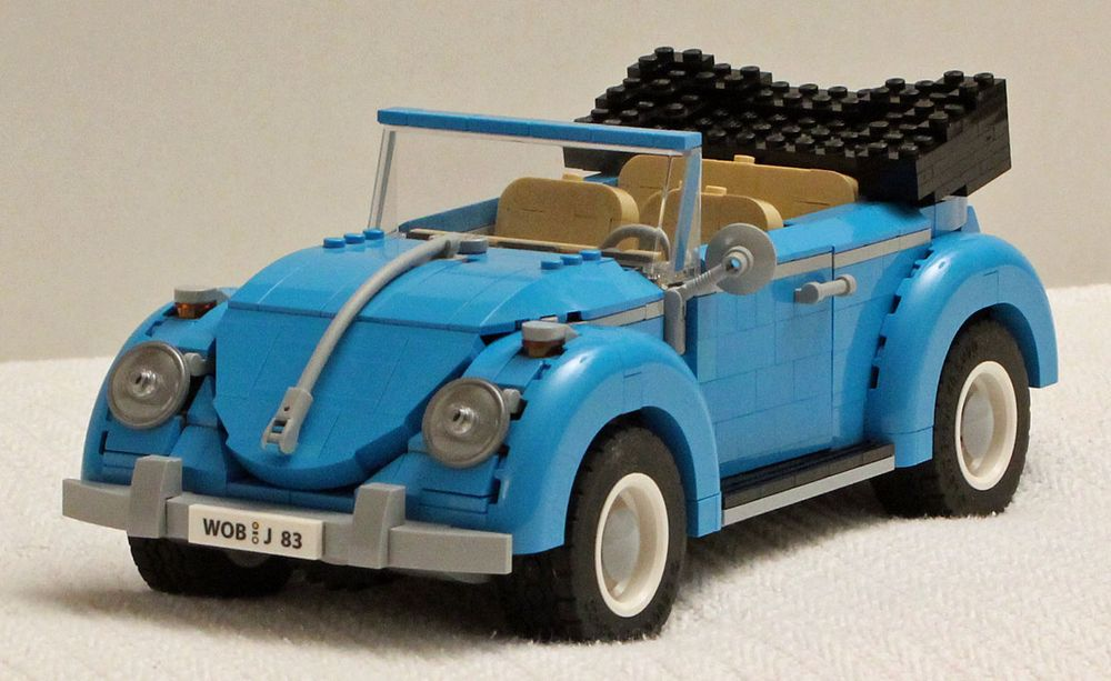 LEGO MOC-22257 VW Beetle Cabrio (Creator > Creator Expert