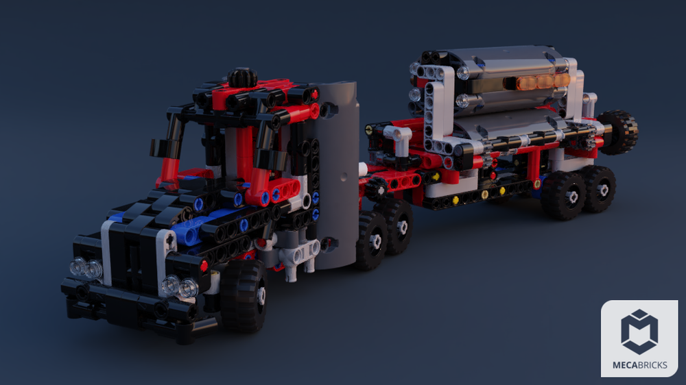 LEGO MOC-22287 [Freemium] The 4x 42084 Mini Mack Anthem