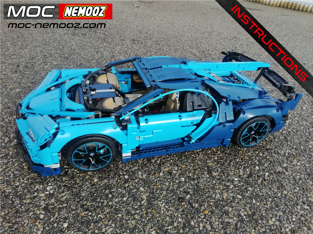 Bugatti Vision Gt >> Lego Moc 22610 Bugatti Vision Gt Technic 2019