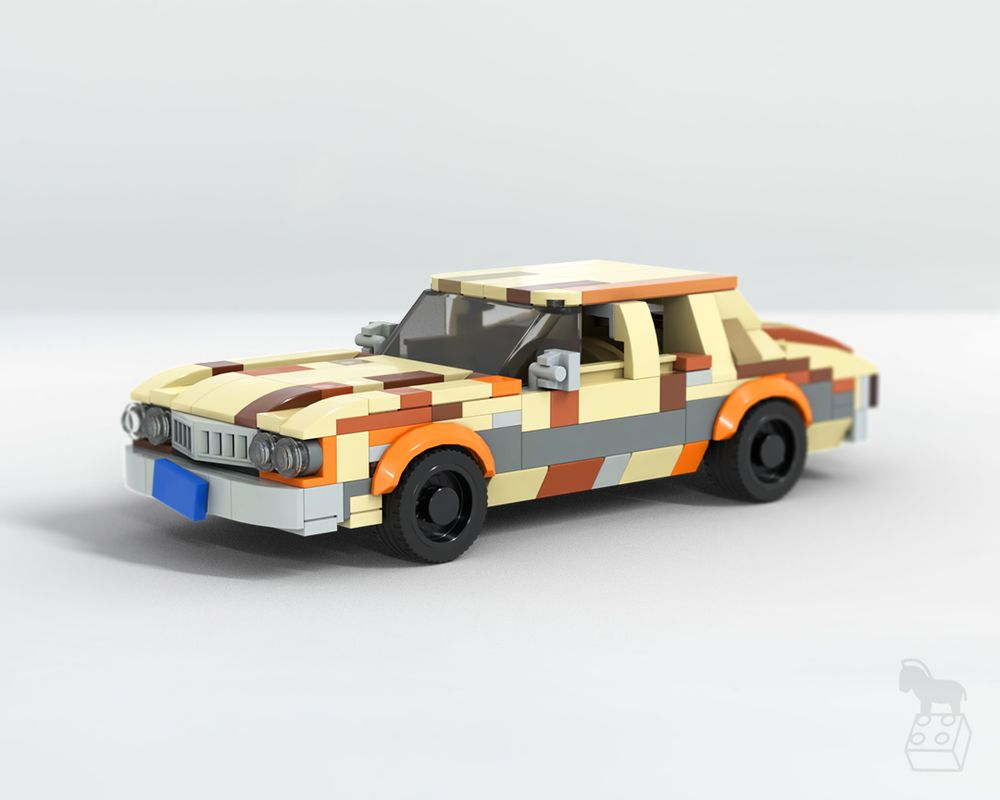 LEGO MOC-22631 The Big Lebowski 1973 Ford Gran Torino (Cars