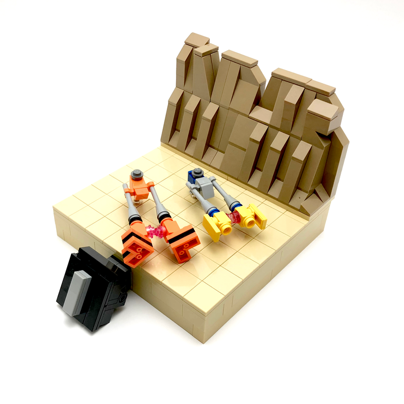LEGO MOC-22724 Episode 1 Mini Diorama (Star Wars > Mini 2017