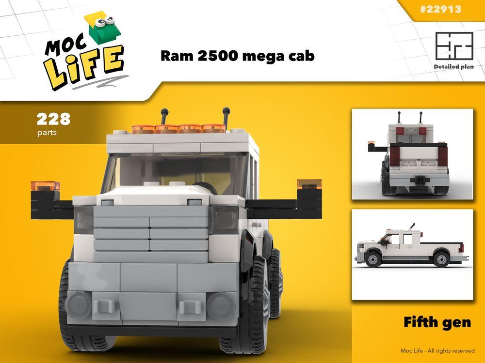 LEGO MOC-22913 Track Rail Radar Train (Town > City > Trains