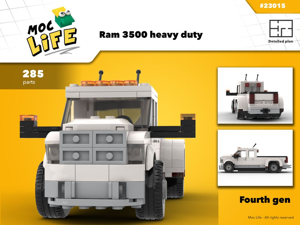 pre order first look top brands LEGO MOC-23015 Police coach bus (Town > Town Jr. > Police ...
