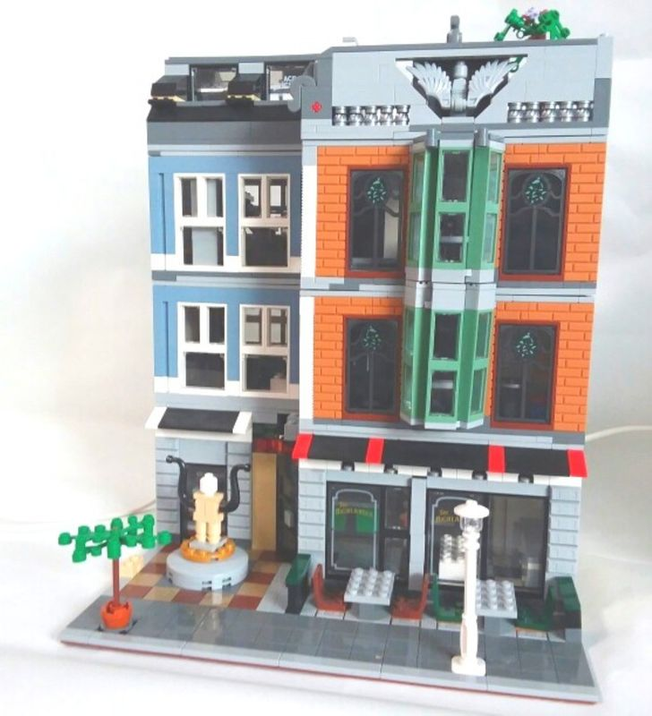 Lego Moc 23111 Highlander Restaurant Modular Buildings