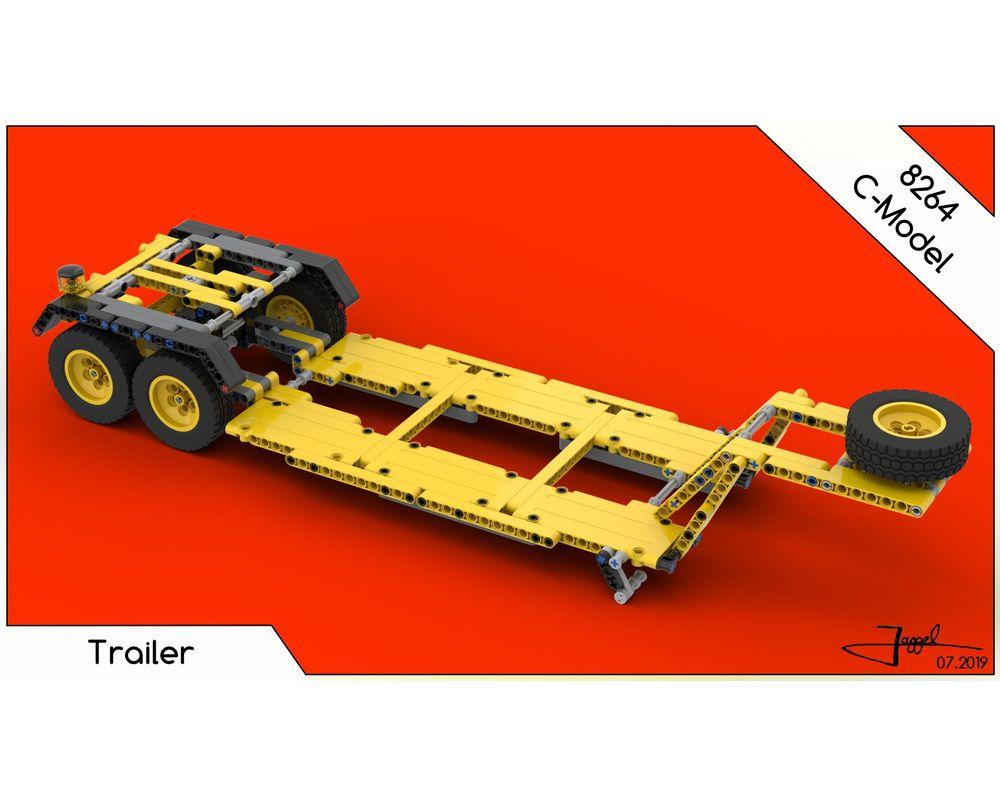 LEGO MOC-23353 LEGO 8264 Trailer (Technic > Model > Construction 2019) | Rebrickable - Build ...