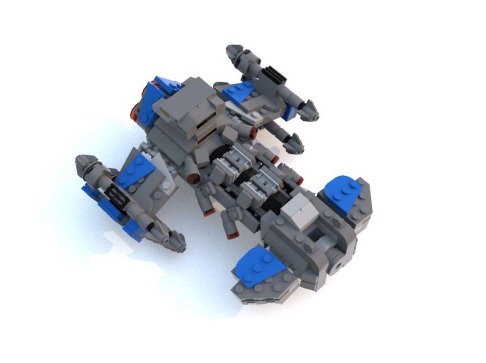 LEGO MOC-23502 STARCRAFT II - BATTLE CRUISER (Space 2019
