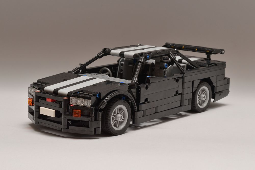 LEGO MOC-23809 Nissan Skyline R34 (Technic 2019) | Rebrickable
