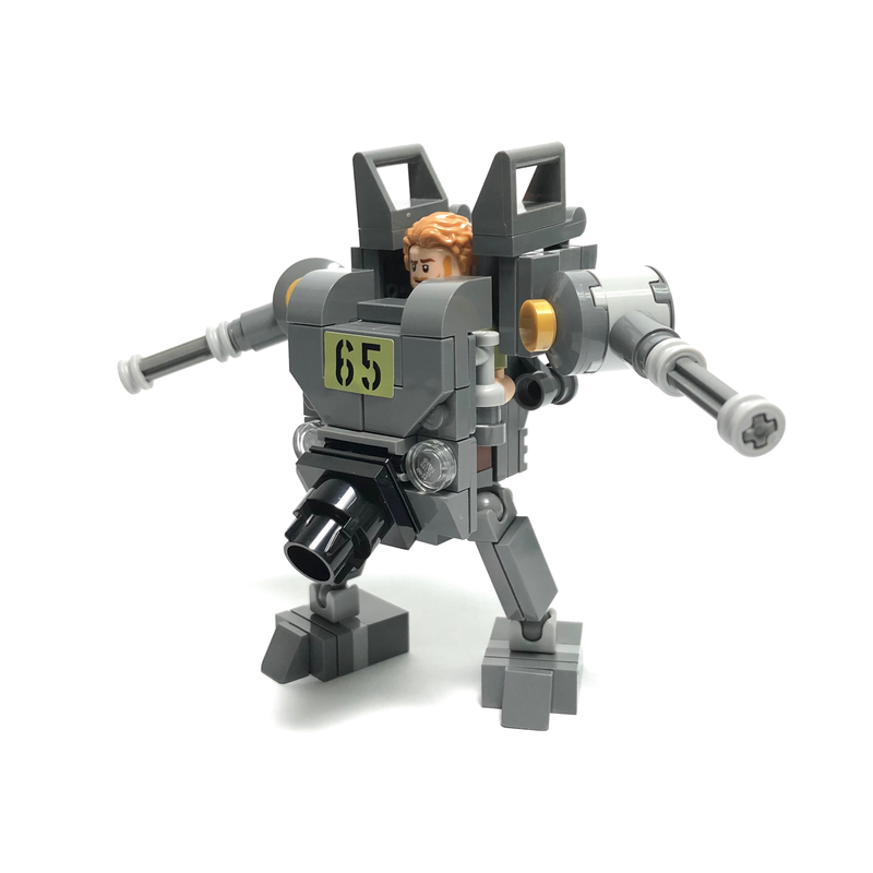 Lego Moc Slugnoid Mech Suit By Lioncity Mocs Rebrickable Build With Lego