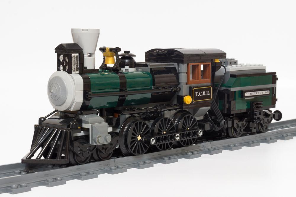 LEGO MOC-23905 79111 RC Lone Ranger Train (Train 2019