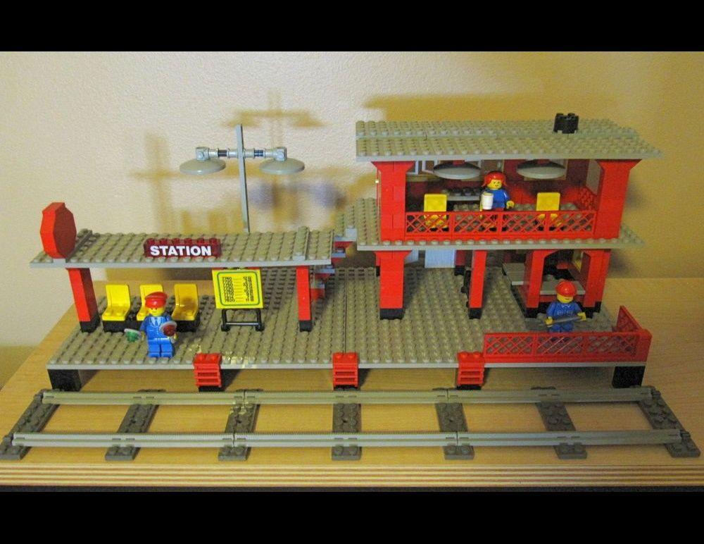 LEGO MOC-23997 Railway Station B (Train 2009) | Rebrickable