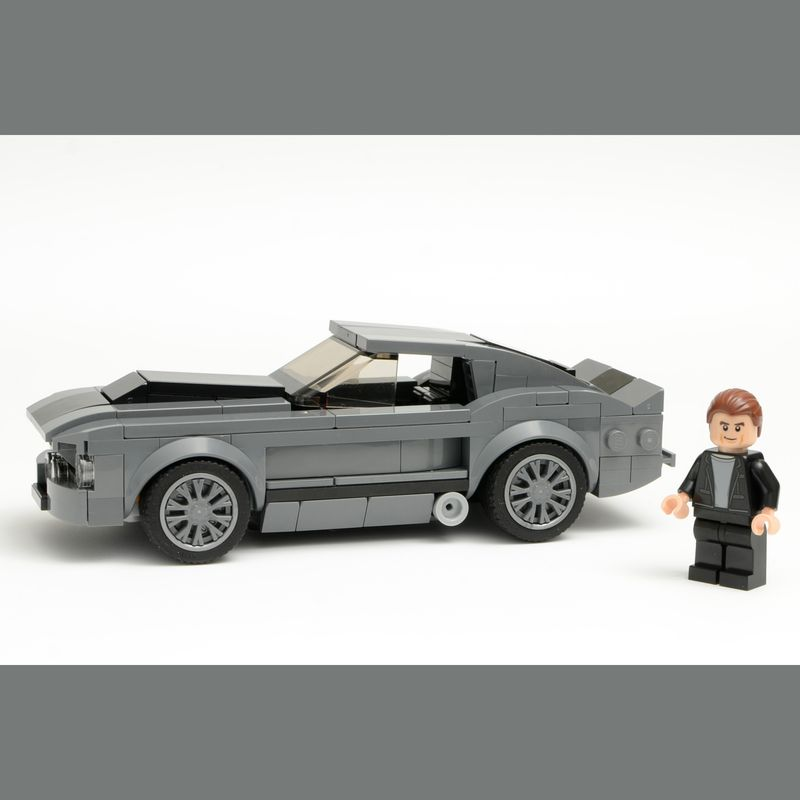 LEGO MOC-24390 Eleanor from Gone in 60 Seconds: 1967 Ford
