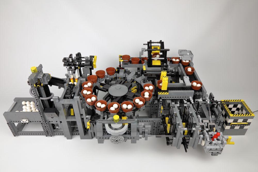 LEGO MOC-24605 Akiyuki Ball Factory New Style (V3) (Technic