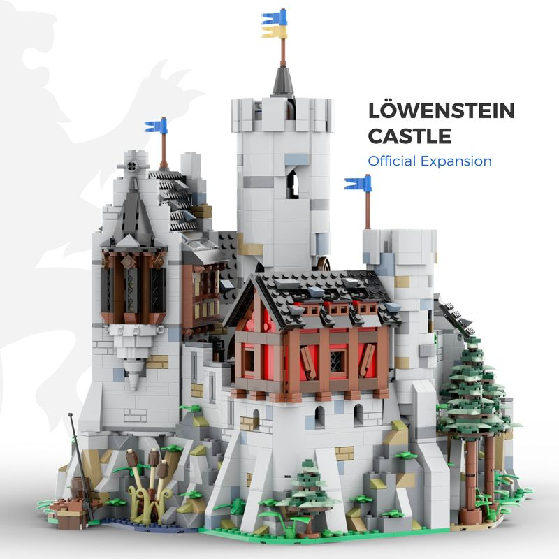 LEGO MOC-24877 Löwenstein Castle - Official Expansion