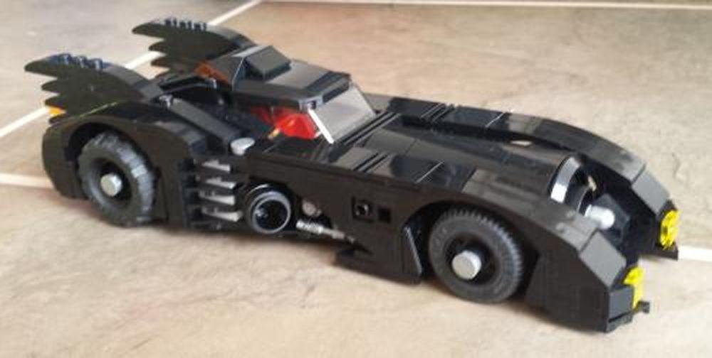 LEGO MOC-2495 Lego Batman 3 The Batmobile (1989) (Super ...