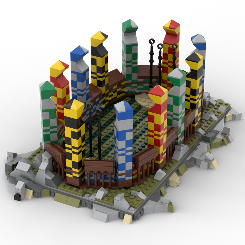 LEGO MOC-25430 Quidditch Pitch (Harry Potter 2019 ...