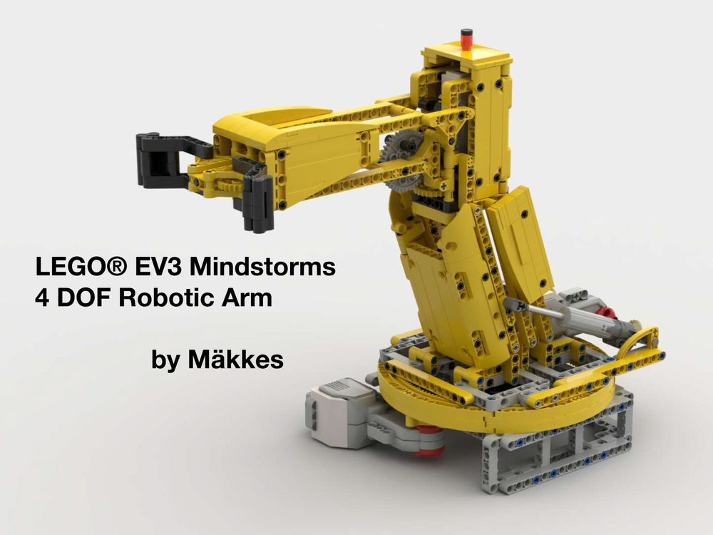 LEGO MOC-25433 EV3 Mindstorms 4DOF Robotic ARM (Mindstorms > EV3