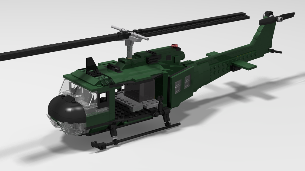 LEGO MOC-25546 Lego UH-1D Huey (Creator > Model 2019) | Rebrickable