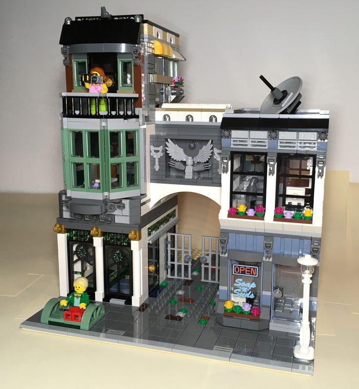 LEGO MOC-25746 10251 - The Jeweler - alternat Building for Brick
