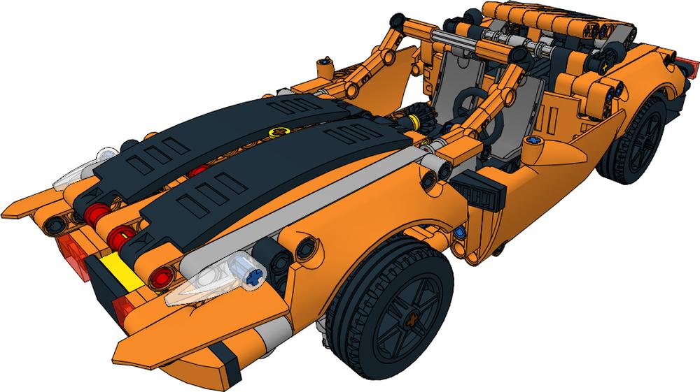 Lego Moc 26144 Convertible 42093 C Model Technic 2019