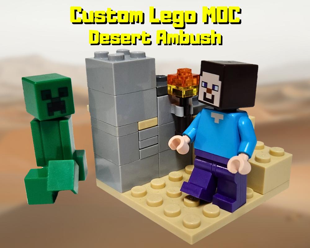 LEGO MOC-26441 Desert Ambush (Minecraft 2019)   Rebrickable - Build