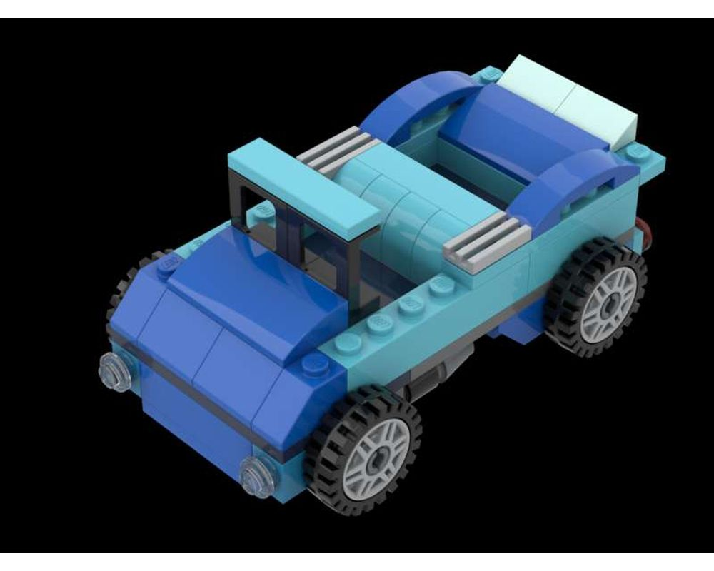 Lego Moc 10696 Convertible By L Hendriksen Rebrickable Build With Lego