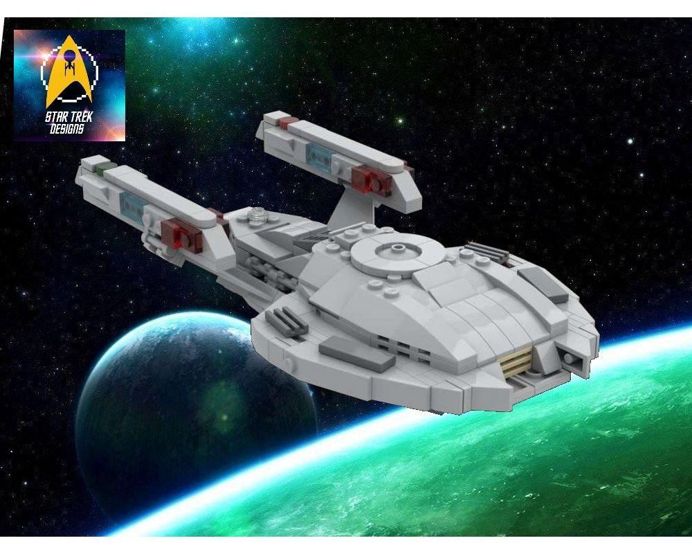 No Parts LEGO Star Trek MOC Instructions Only Nova-Class Starship ...