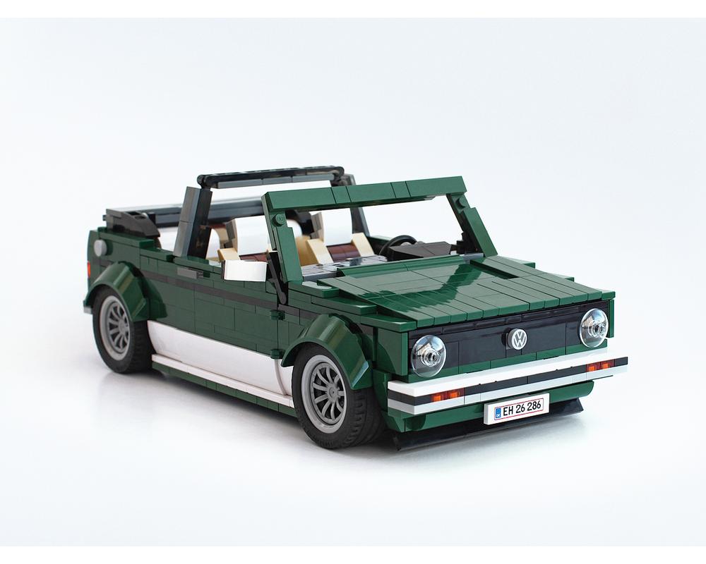 LEGO MOC-26778 10242 VW Golf MK1 Cabriolet, PDF ...