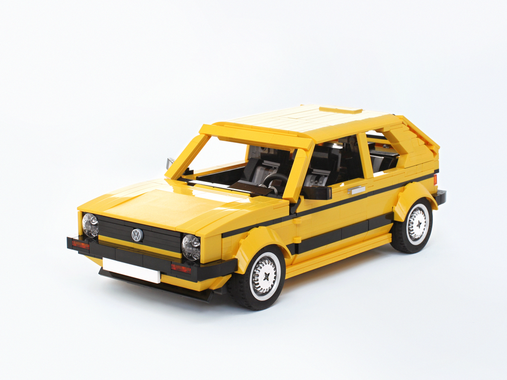 LEGO MOC-26902 VW Golf Mk1 (Creator > Creator Expert 2019 ...