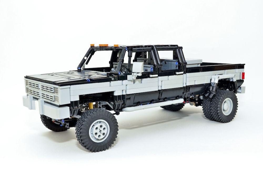 LEGO MOC-26919 Chevrolet Silverado K30 crew cab dually 4x4 ...