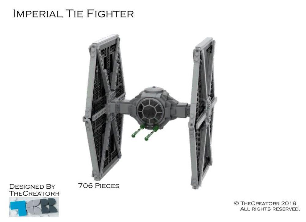 LEGO MOC-26959 Imperial TIE-Fighter MOC (Star Wars > Star