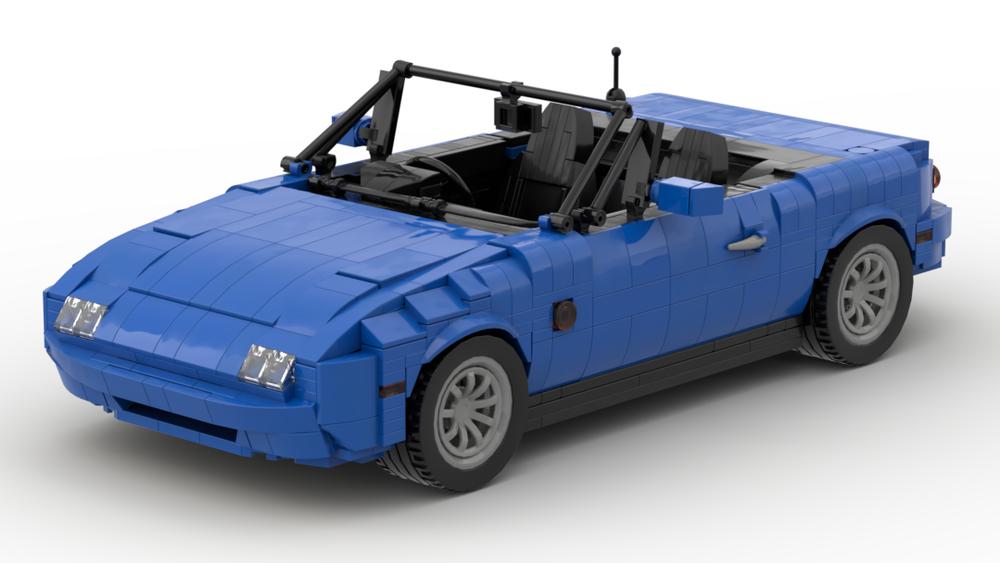 Build A Mazda >> Lego Moc 27076 1989 Eunos Roadster Mazda Mx 5 Mazda Miata Cars