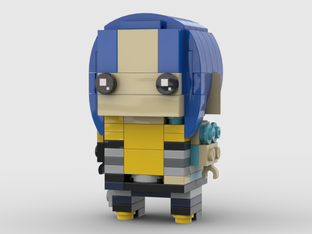 LEGO MOC-27665 Maya Brickheadz (Borderlands 2) (Brickheadz