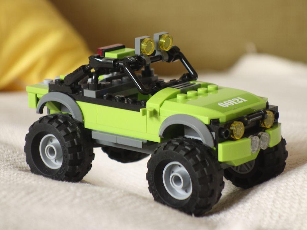 LEGO MOC-28109 60121 Trial Jeep (Cars 2019) | Rebrickable ...