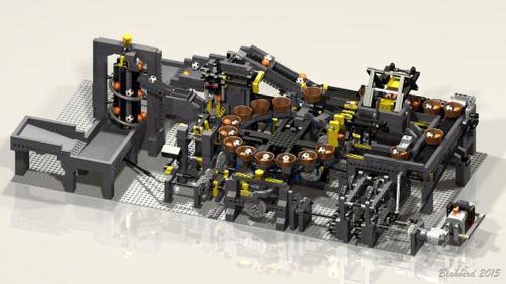 LEGO MOC-2828 Ball Factory (Technic 2015)   Rebrickable